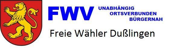 Freie Wähler Vereinigung Dußlingen